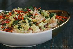 Chinese Chicken Salad from Rubies and Radishes