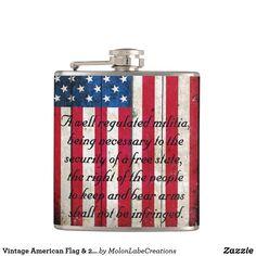 Protect the 2nd Amendment Patriotic Red White Blue Purse Bag Hanger Holder Hook