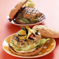 These tasty burgers incorporate cheese and mustard in the patty, rather than on top.