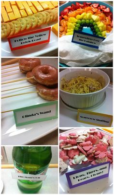 Wizard of Oz Party Food