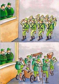 Funny pictures about The Ugly Truth Of War. Oh, and cool pics about The Ugly Truth Of War. Also, The Ugly Truth Of War photos. Pictures With Deep Meaning, Art With Meaning, Satire, Political Art, Political Cartoons, Satirical Illustrations, Meaningful Pictures, Powerful Pictures, Amazing Pictures