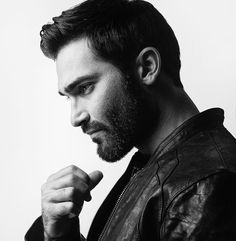 Portrait of Tyler Hoechlin for Observer