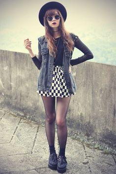 girly punk rock fashion for women - Google Search