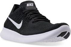 c70e452fed01 Nike Women s Free Run Flyknit 2017 Running Sneakers from Finish Line  Running Sneakers
