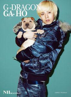 G-Dragon and Gaho