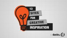 13 sites for creative inspiration - @dustn.tv  - great collection of sites intended to inspire