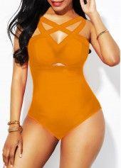Cheap One-Piece Swimsuits Ginger Lattice Front Strappy Back One Piece Swimwear Two Piece Swimwear, One Piece Swimsuit, Night Club Outfits, Rave Outfits, Bikini Set, Sexy Bikini, Swimwear Fashion, Fashion Bra, Dresses For Teens