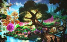 pixie hollow- how it should NOT be! NO HUMANS ALLOWED!!