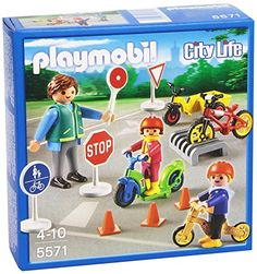 PLAYMOBIL Children with Crossing Guard Set PLAYMOBIL®…