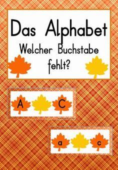 Huch, da fehlt doch was! Heute möchte ich mit euch (m)eine Übung zum Alphabet teilen. Unser ABC-Test von letzter Woche zeigte, dass die...