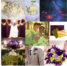 Princess and the frog wedding