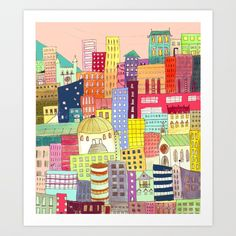 https://society6.com/product/downtown-t7x_print?curator=bestreeartdesigns. $22.99