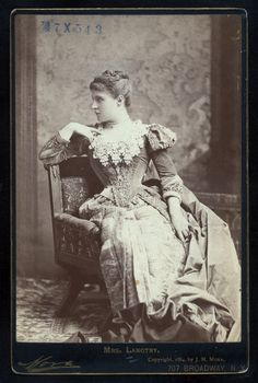 L. Langtry from New York Public Library Gallery