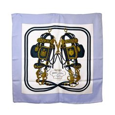 Classic Hermes Brides de Gala Silk Scarf | From a collection of rare vintage scarves