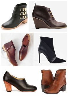18 of the hottest ankle boots for fall to suit any style and budget. (But why do we always like the spendy ones! Grrr...)