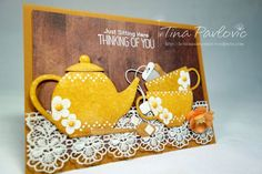 Hello everyone!! This is me again with My Favorite Stamps Products! From the first moment I saw Tea Party Die-namics By Laina Lamb I fell in love! This set has been on my wish list for a long time …