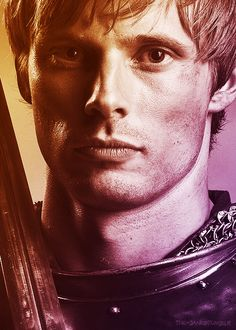 Bradley James aka Arthur <3 @Sylvi Taimi Baker