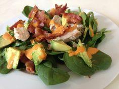 Peri Peri Chicken Salad - Keto Friendly - My Dream Shape!