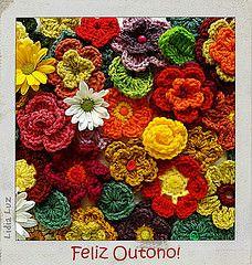 Lidia Luz: Prenúncio da Primavera, bolsa de crochê