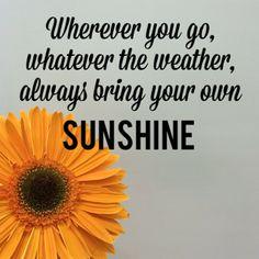 stay happy sunshine!!!!!!!!!