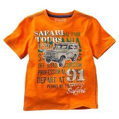 SONOMA life + style Safari Tours Slubbed Tee - Boys 4-7x