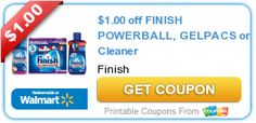 Stock Up Deal on Finish Dish Detergent at Rite Aid