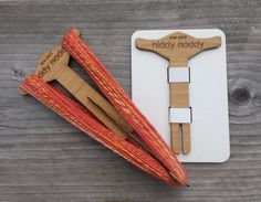 This handy little niddy noddy tool is used to wind the yarn you've spun into a…