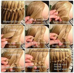 Waterfall Braid Pictorial