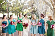 shades of green and blue  Photography by angelahiggins.com, Floral Design by http://foxandrabbit.com.au