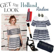 Get The Look : Holland Roden by mathildebounhol on Polyvore featuring polyvore fashion style Sretsis Zara Smashbox