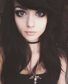Facebook.com/syginfanpage  #polishgirl #poland #polska #polish #freetime #goodtime #love #big_eyes #bigeyes #greyeyes #tattooed #skin #paleskin #polka #alternativegirl #alternativehair #choker #necklace #goth #darkbeauty #polka #dark #makeup #smokey #smokeyeyes #paleskin #blackhair #lenses #soczewki #soczewkipowiekszajace