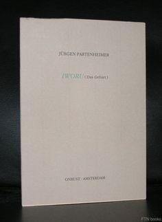Onrust # JURGEN PARTENHEIMER , Iworu # 500 cps, 1987, mint-