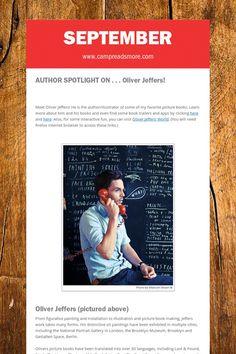 September Oliver Jeffers, September, Author, Adventure, Education, Reading, Books, Libros, Book