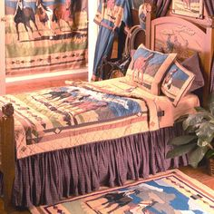 Patch Magic Quilts Wild Horses Bedding By Patch Magic Quilts, Comforters, Comforter Sets, Duvets, Bedspread, Quilts, Sheets & Pillows: The Home Decorating Company