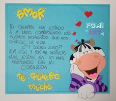 Tarjeta Diy And Crafts, Paper Crafts, Kindergarten Crafts, I Love You, My Love, Loving U, Betty Boop, Ariana Grande, Poems