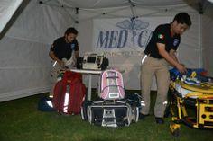 Ambulancias MedCare Querétaro. PRB3 Pink  y OMNI EMS Meret, Back up Statpacks. EMS México     Equipando a los Profesionales