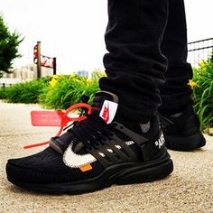"""san francisco a2cf3 83d08 C R E P T O P I A on Instagram """"Off White x Nike Air Presto (Black)  AA3830-002 A deconstructed take on the classic """"t-shirt for your feet""""  could be even ..."""