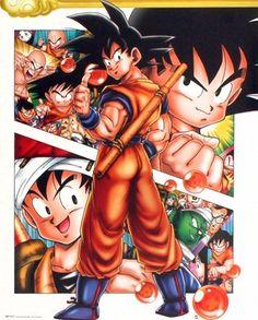Dragon Ball - Goku Poster I need this. But why is piccolo so small Dragon Ball Z, Pretty Cure, Otaku Anime, Poster One Piece, Totoro, Manga Anime, Manga Dragon, Db Z, Majin