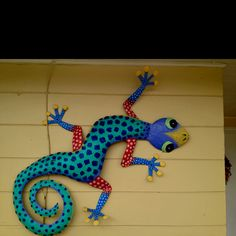 The Gecko is Manatee County's (our  home ) mascot .