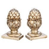 Found it at Wayfair - October Hill Pineapple Library Bookends