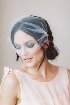 Ceres Bridal Blusher. Wedding Headband, Bridal Headband, Wedding Accessories, Bridal Headpiece by OffwhiteStudio on Etsy