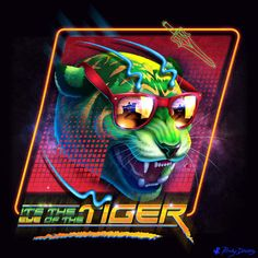 Eye of the Tiger by RockyDavies on DeviantArt