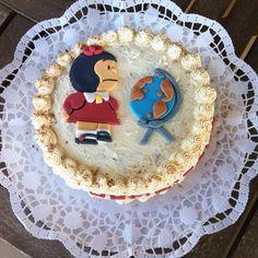 Pastel personalizado de Mafalda. #quino #vegano