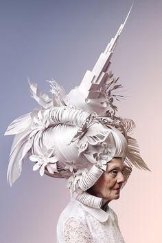 asya kozina russian paper artist asya kozina reinterprets baroque wigs with a modern flair