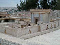 Imaginary King Solomon's Temple  Jerusalem
