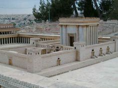 Imaginary King Solomon's Temple Jerusalem