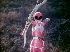 Mighty Morphin Power Rangers arsenal: Pink Ranger's Power Bow, a.k.a. 'Battle Bow'