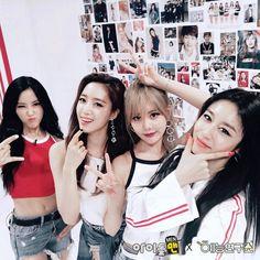 T-ara : Hyomin, Eunjung, Qri, Jiyeon