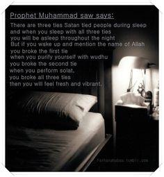 Remember this to drive satan away during Fajr Prayer.