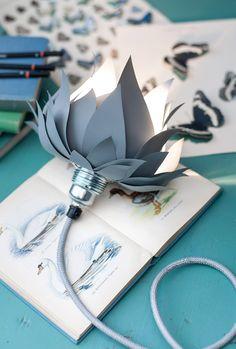 Diy Lamp by Parolan asema - made of aluminium cans